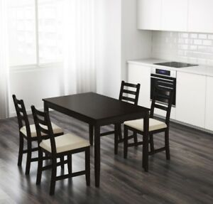 IKEA- Dining table (or office table)- solid wood- Lerhamn