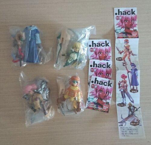 Bandai HGIF capsule .Hack Vol.1 figure full set of 4 (c)2002
