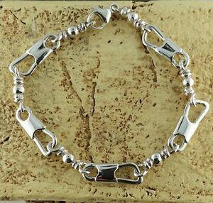 acts bracelet sterling silver fishers of bracelet