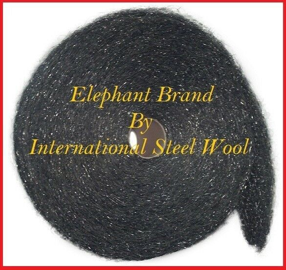 10 lb Case Steel Wool Rolls, Grade #3 COARSE