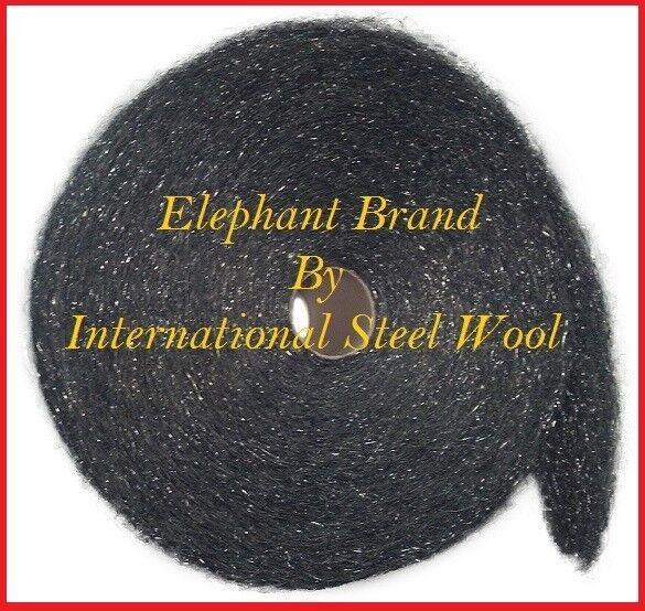 25 lb Case Steel Wool Rolls, Grade #3 Coarse