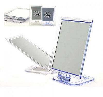 Vanity Stand (Table Top Vanity Stand Up Mirror Fold Desk Makeup Standing Mirrors Portable)
