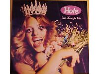 HOLE - Live Through This - 1994 ORIGINAL, NOT A REISSUE Euro LP - RARE - Courtney Love, Nirvana