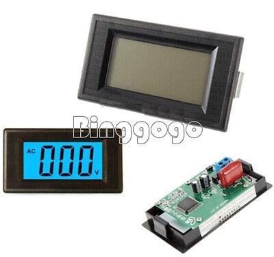 AC 80-500V 2-wire 3 1/2 Blau LCD Panel Meter Voltage Power Supply Netzgerät Lcd-panel-meter