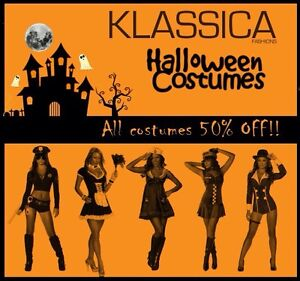 50% OFF HALLOWEEN COSTUMES!!! (Womens Adult Costumes)
