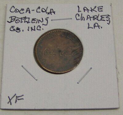Coca Cola Bottling Company, INC. Lake Charles, LOUISIANA - Medal -  XF