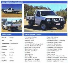 2009 Nissan Navara Ute Karalee Ipswich City Preview