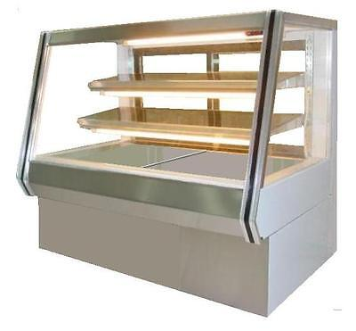 Coolman Commercial Dry Non-refrigerated Counter Bakery Pastry Display Case 60