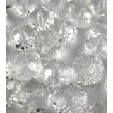 NEW Jewelry Faceted 30pcs Clear #5040 6x8mm Roundelle Crystal Beads DIY D2