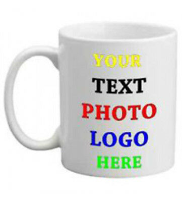 Personalised Mug Custom Printed any image or message FAST DELIVERY :)