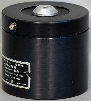 Bruel Kjaer 4810 Mini-shakervibration Head Exciter 2.25 Lbf 10 N Dc-18 Khz