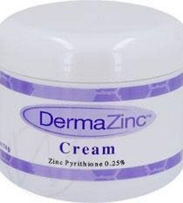 4Oz Dermazinc Cream Eczema Psoriasis Dermatitis Treatment  25  Zinc Pyrithione