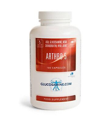 ARTHRO-5 GLUCOSAMINA E CONDROITINA PER LA PROTEZIONE DELLE CARTILAGINI 180 CPS.
