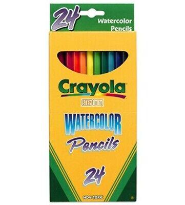 Binney & Smith's Crayola Watercolor Pencils  (6) boxes of (24) pencils