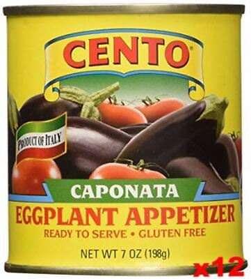 Caponata Eggplant Appetizer (CENTO) CASE (12 x 7 oz)