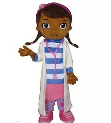 New doc mcstuffins Adult Mascot Costume fancy dress for Christmas party (Doc Mcstuffins Adult Costume)