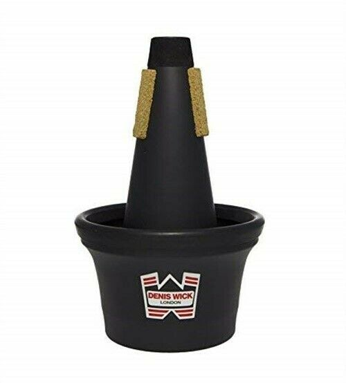 DENIS WICK Bb TRUMPET BLACK SYNTHETIC CUP MUTE