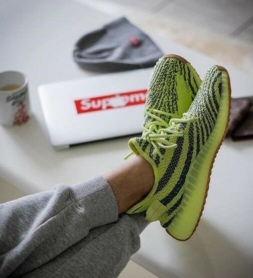 d53e6204f8362 New Yeezy Boost 350 v2 Semi Frozen Yellow (free delivery)