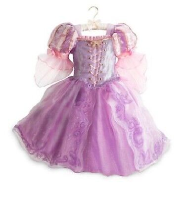 DELUXE~RAPUNZEL~Costume~DRESS~Girls 7/8~9/10~TANGLED~NWT~Disney - Deluxe Rapunzel Kostüme