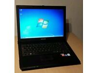 Samsung Laptop , 160 hdd , 2 ram , fast laptop