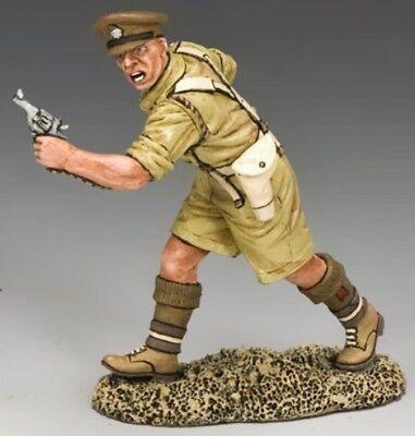 KING & COUNTRY EIGHTH ARMY EA079 BRITISH ATTACKING OFFICER MIB