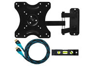 TV WALL MOUNT, ARTICULATING ARM FOR 23 TO 49 Iinches LED LCD