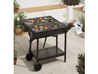 Double sided oil drum bbq