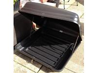 Roof Box (Autoplas) 200Litre capacity. Good storage, saving valuable boot space