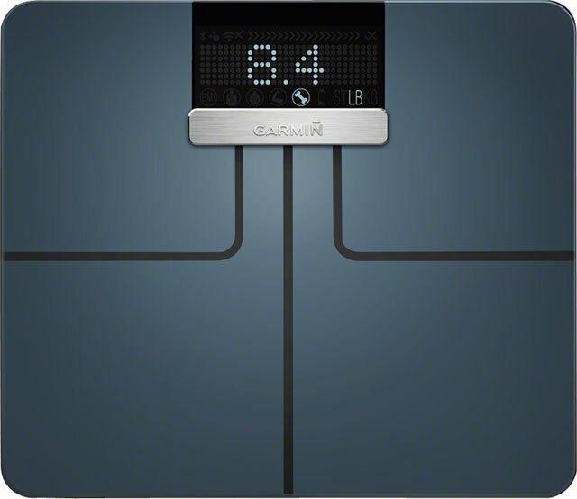 Garmin Index Smart Scale Black Wi-Fi Bluetooth BMI & Muscle Mass Tracking