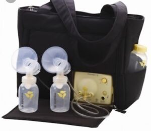 Medela Freestyle double breast pump.