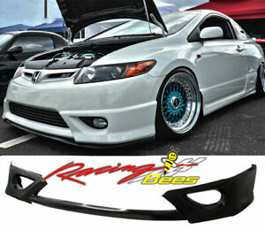 2006-2011 Honda Civic Coupe Si 2dr HFP Style Front lip,Side,Rear