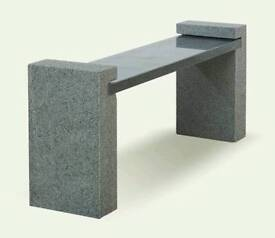 BRAND NEW GRANITE BENCH