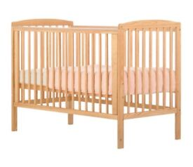 Roma cot and cot mattress from BabyRus
