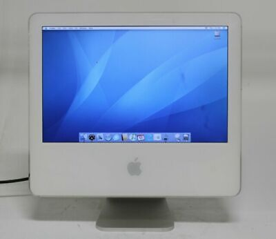 "Apple iMac G5 17"" Screen Intel 1.8Ghz 512KB Memory 256MB All-in-one Computer Mac segunda mano  Embacar hacia Mexico"