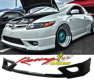 2006-2008 Honda Civic Coupe Si 2dr HFP Style Front lip,Side,Rear