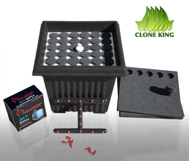THE CLONE KING 36 SITE AEROPONIC PLANT CLONING MACHINE CLONER CLONING VERY EASY!