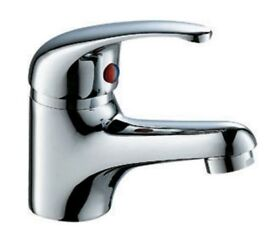Brand New Basin Mixer tap with flexible tap connector and fixing