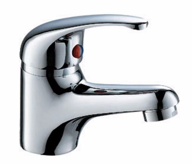 New Basin Mixer tap with flexible tap connector Solid brass .