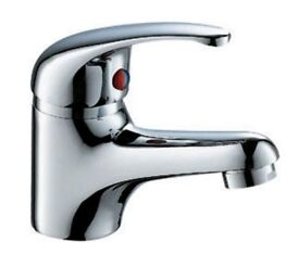 Brand New Basin Mixer tap with flexible tap connector and fixing.