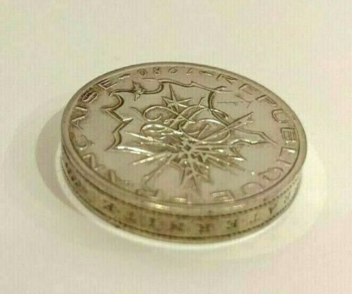 France 1980 Silver Piedfort 10 Francs Mintage-730 Catalog P678