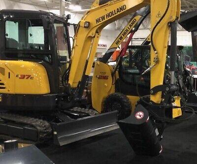 44 Hydraulic Tilt Ditching Grading Bucket For Case Cx Series Mini Excavators