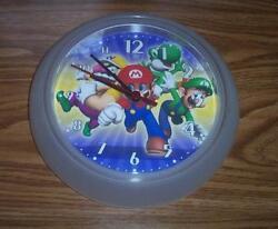 Nintendo Super Mario Bros/Luigi &Yoshi Wall Clock Ikea K Hagberg/M.Hagberg