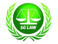 Solicitor, Paralegal, Caseworker with own following at SG LAW Green St London E13 9AU