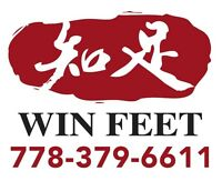 **Hot Stone Essential Oil Massage** @Win Feet Kingsway, Burnaby