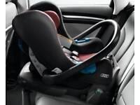 Audi 0+ car seat & ISOFix base