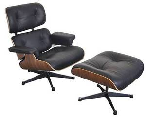 Replica Eames Lounge & Ottoman - Genuine Leather Joondalup Joondalup Area Preview