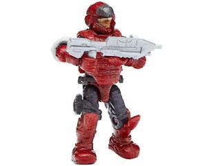 MEGA Bloks Construx Halo Warrior Series Red Atriox Ultra RARE A07017es