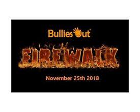 BulliesOut 'Brave The Blaze' Firewalk