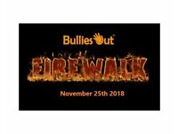 BulliesOut 'Brave The Blaze' Firewalk