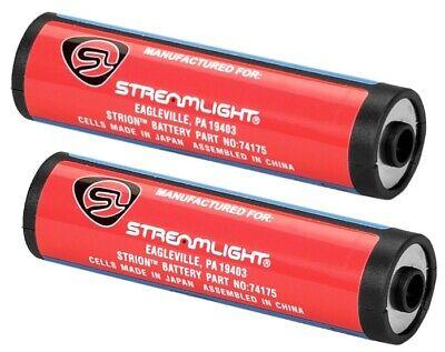 Streamlight 74175 Lithium-Ion Li-Ion Battery Stick 2-pack Strion Lithium Battery Streamlight Battery Stick